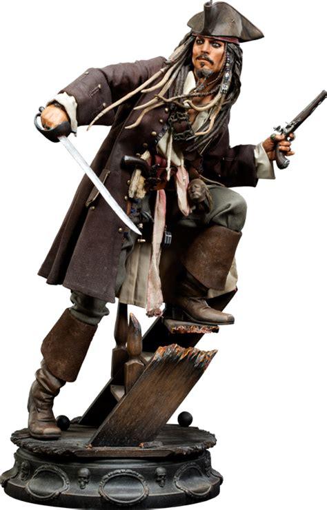 Disney Of The Caribbean Captain Sparrow Figure By disney captain sparrow premium format figure by