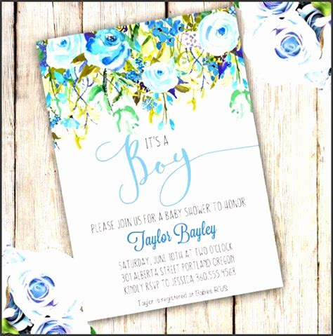 8 Baby Shower Party Invitation Template Sletemplatess Sletemplatess Digital Baby Shower Invitations Templates