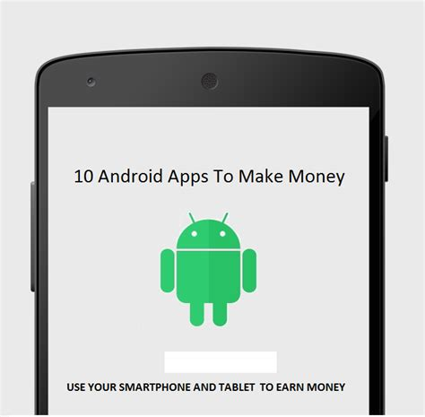 App Make Money Online - earn money online via smartphone and tablet