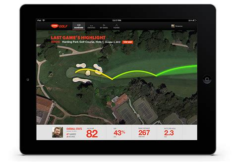 golf swing tracker previous image next image