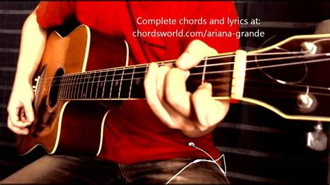 How To Play Tattooed Heart On Guitar | tattooed heart chords by ariana grande how to play