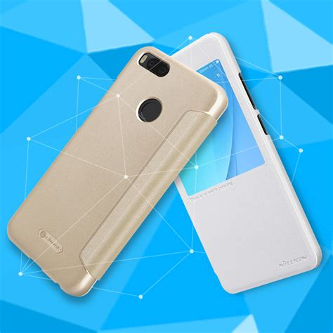 Xiaomi Mi A1 Mia1 Smart Leather Flip View Cover Casing Autolock flip pu leather slim cover for xiaomi mi 5x mi a1