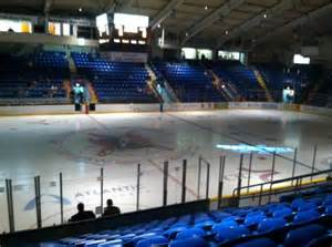 cambria county war memorial seating photos of the johnstown tomahawks at cambria county war