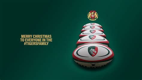 merry christmas tigersfamily leicester tigers