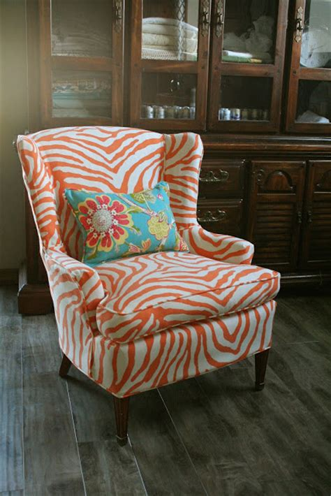 orange slipcover custom slipcovers by shelley sewing contest week 2