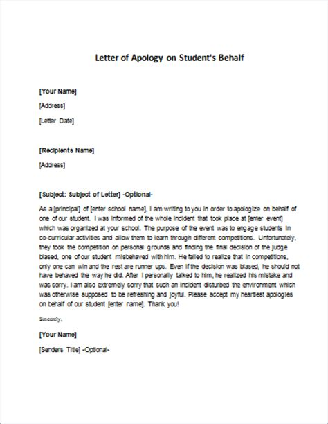 Apology Letter On Behalf Of Company Apology Letter For A Mistake Writeletter2