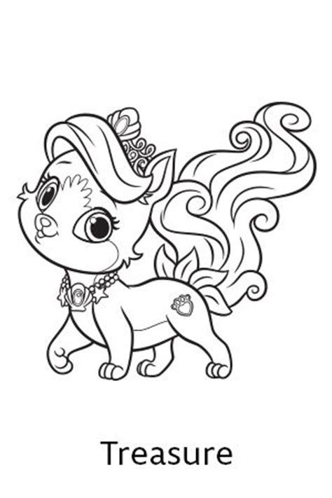 Disney S Princess Palace Pets Free Coloring Pages And Princess Pets Coloring Pages