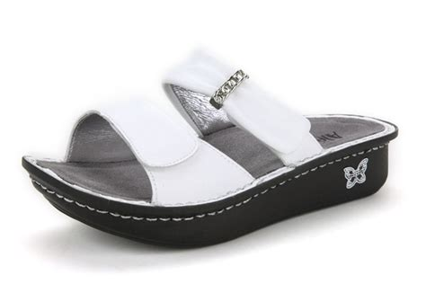 alegria karmen white sandals original alegriashoeshop