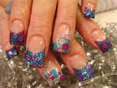 cute acrylic nail design 3d design is a cute acrylic nail