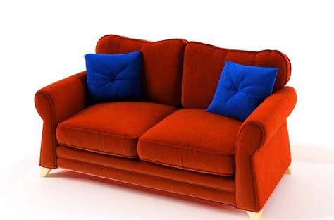 canapes convertibles de qualite canap 233 2 places convertible en tissu de qualit 233 tomy orange mobilier priv 233