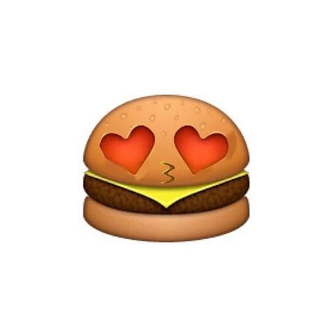 emoji food related keywords suggestions for hamburger emoji