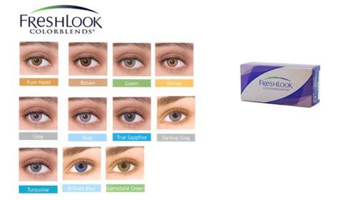 freshlook colorblends color chart freshlook colorblends hareli lens renkli lens lensci