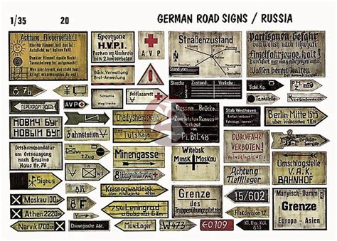 printable french road signs verlinden 1 35 german road signs operation barbarossa