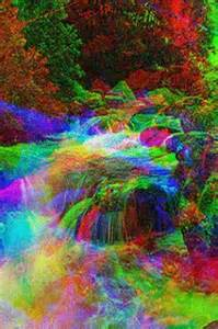 colorful waterfalls colorful waterfall live wallpa for android appszoom