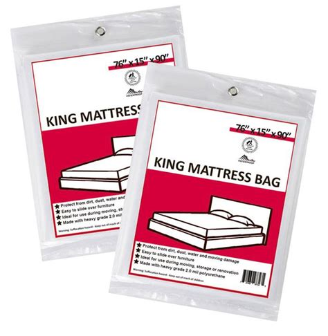 cing furniture bags 2 king mattress bags u pack