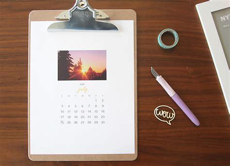make cheap calendars free printable 2016 photo calendar great diy gift idea
