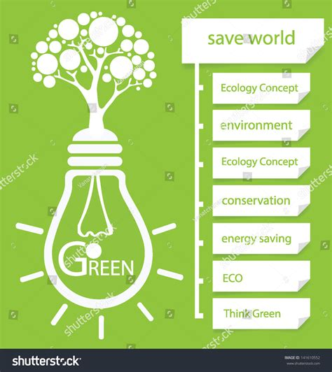 go design go green design template diagram vector illustration