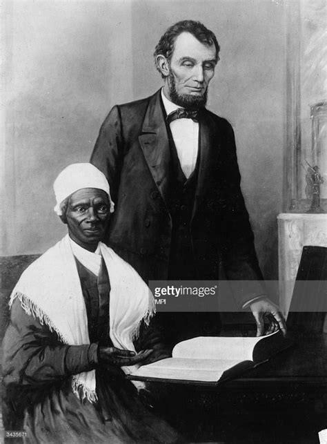 abraham lincoln biography about slavery sojourner truth pictures getty images