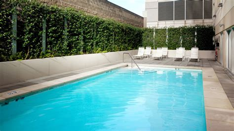 Downtown Sacramento Hotel Features Sheraton Grand Backyard Pools Sacramento