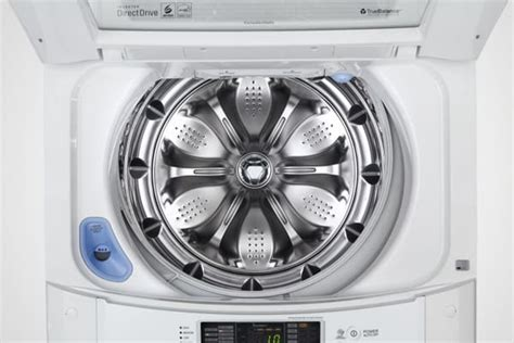 LG WT1101CW 27 Inch 4.1 cu. ft. Top Load Washer with 8