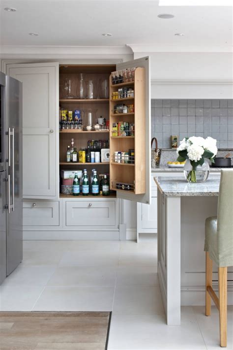 built in pantry 18 kitchen pantry ideas designs design trends