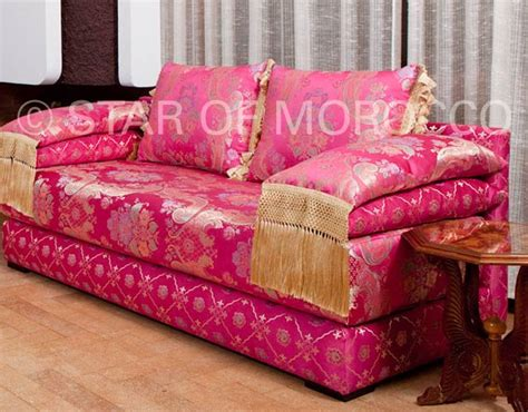 fuschia couch moroccan sofa living room