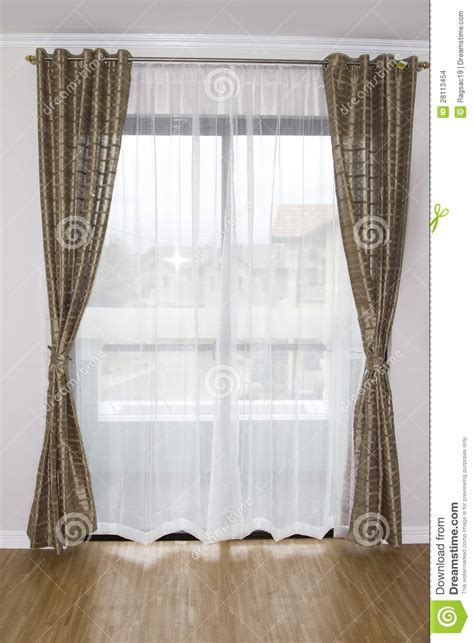 Where To Buy Window Curtains Window Curtain Stock Images Image 28113454