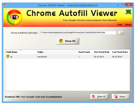 Chrome Autofill by Chrome Autofill Viewer V1 0