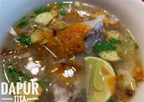 resep soto  membuat soto  enak kulinerincom