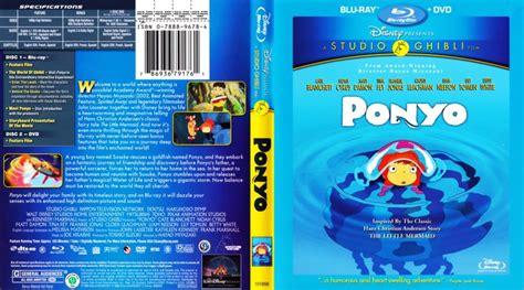 ponyo blu ray slipcover ponyo movie blu ray scanned covers ponyo english