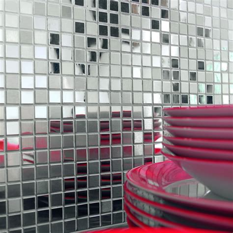 Credence En Mosaique by Credence De Cuisine En Mosaique Inox Photo 1 4 Http