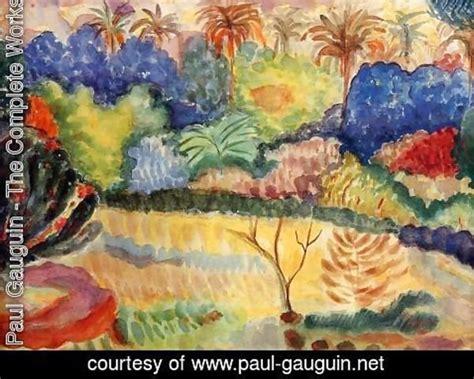 libro paul gauguin a complete paul gauguin the complete works tahitian landscape paul gauguin net