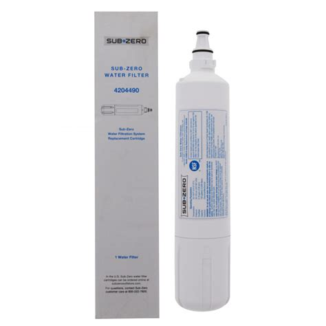 Water Softener Faucet Sub Zero 4204490 Refrigerator Water Filter