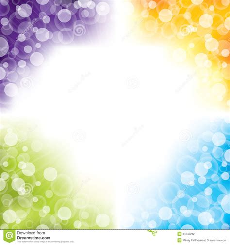 four color colorful abstract background design with four colors stock