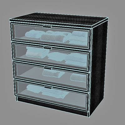 Hopen Dresser by 3d Hopen Chest Drawers Model