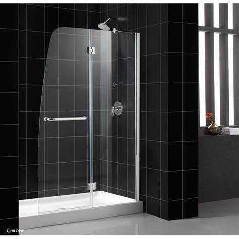Aqua Glass Shower Doors Bath Authority Dreamline Aqua Clear Glass Shower Door Free Shipping Modern Bathroom