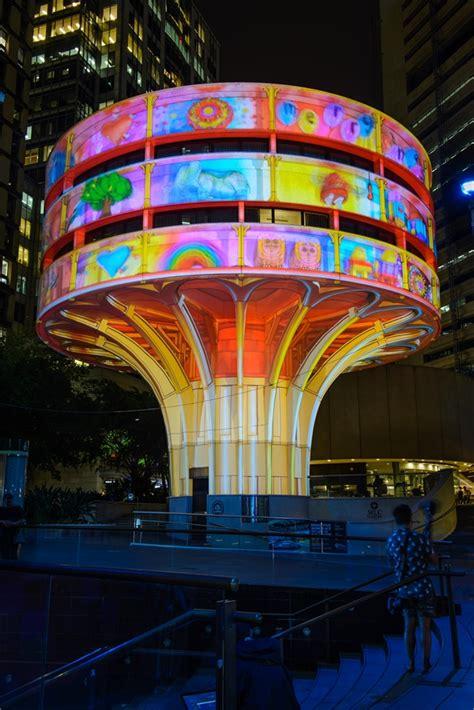 computer graphics world christmas lights in sydney