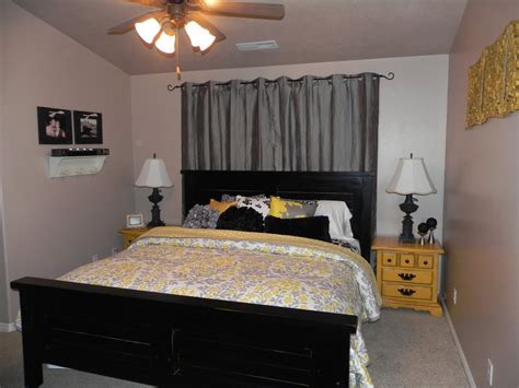 bedroom bedroom gray and yellow bedroom theme decorating