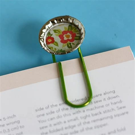 useful crafts for bottle cap bookmarks craft as s day gift alpha
