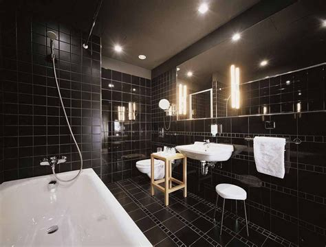 black bathrooms 15 amazing modern bathroom floor tile ideas and designs