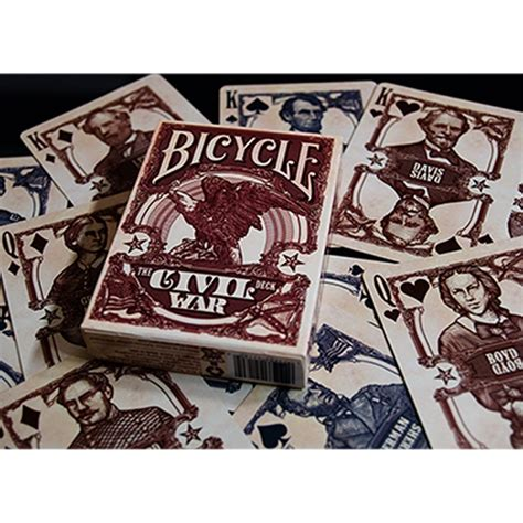 War Deck by Civil War Bicycle Deck By Us Card Co