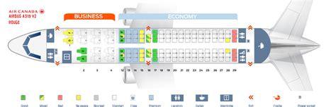 air canada seats air canada aircraft seating chart images