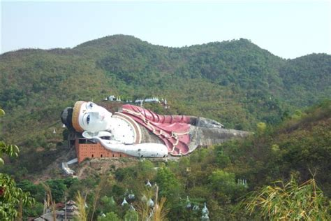 largest reclining buddha in the world 301 moved permanently