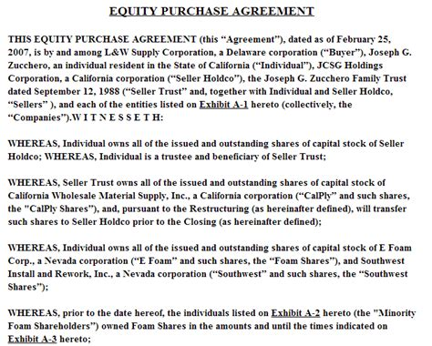 equity agreement template shareholders agreement sle singapore pictures