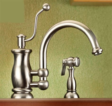 fashioned kitchen faucets vintage style kitchen faucet from mico the seashore faucet line