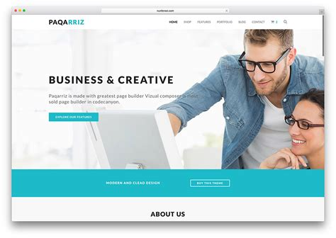 top 18 business website templates html5 wordpress 2017