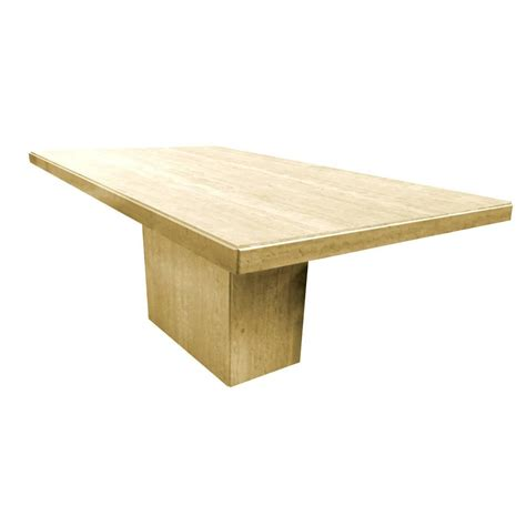 travertine dining table for sale at 1stdibs