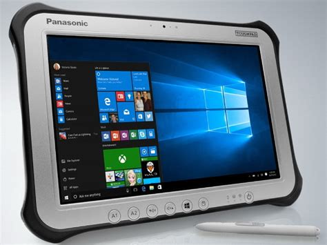 panasonic rugged tablet panasonic updates toughpad fz g1 fully ruggedized tablet notebookcheck net news