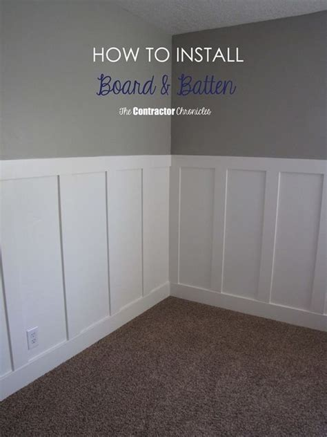 how to hang beadboard paneling craftsman style board and batten tutorial tutorial diy