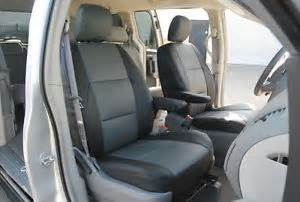 Seat Covers For Kia Sedona Kia Sedona 2006 2012 S Leather Custom Fit Seat Cover Ebay